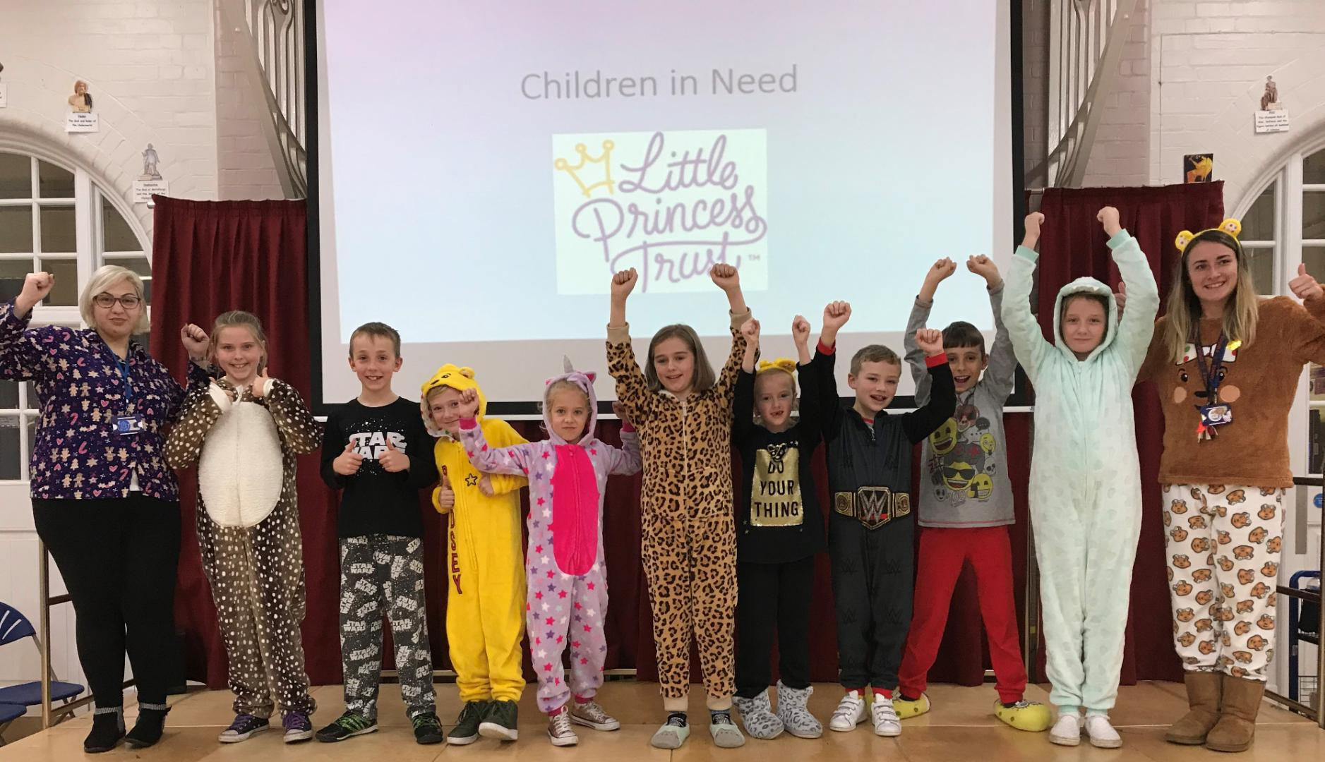 Pupils and staff PJs